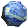 Designer umbrella with gift box Van Gogh Starry Night