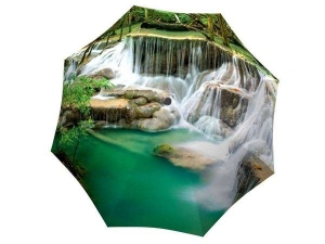 Designer Rain Umbrella with gift box Thailand Waterfall
