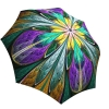 Rain umbrella with gift box - Kaleidoscope Stained Glass
