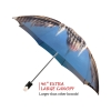 Budapest good quality folding rain umbrella with gift box