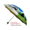 Four Seasons good quality folding rain umbrella with gift box