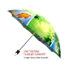 Spring Collage good quality folding rain umbrella with gift box