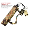 Gold Floral large canopy small folding umbrella