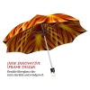 Fire stylish art auto open umbrella