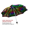 Floral Stained Glass stylish art auto open umbrella