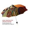 Klimt stylish art auto open umbrella