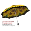 Sunflower stylish art auto open umbrella
