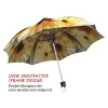 Sunflower Wedding stylish art auto open umbrella