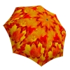 Compact Automatic Rain Umbrella Canadian Autumn Design - Nature Umbrella Travel Lightweight