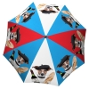 French Dog Umbrella Blue Red - Extra Large Umbrella Windproof - best fancy umbrella