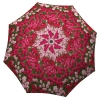 Compact Automatic Rain Umbrella Tulips Design - Art Floral Umbrella for Women - best umbrella for strong wind and rain