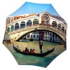 Best portable designer umbrella in gift box - Italian Umbrella Venice Design