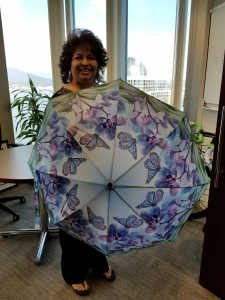 Butterfly umbrella - Portable windproof