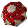 Red Roses Brand Umbrella for Women Windproof Compact for Travel