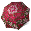 Tulips Compact Automatic Rain Umbrella - Art Floral Umbrella for Women