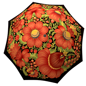 Rain umbrellas with bright designs - Cultural Umbrellas from La Bella Umbrella