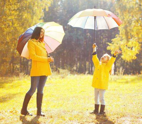 Brace Yourselves, April Showers Are Coming | La Bella Umbrella