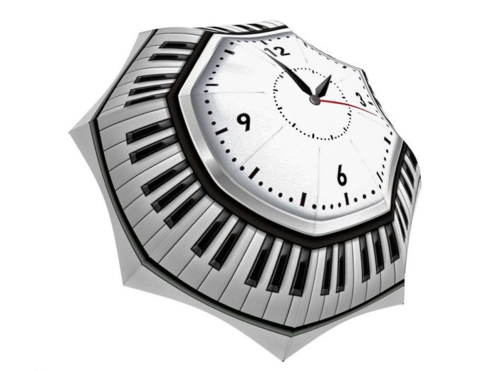 Rain umbrella with gift box - Clock