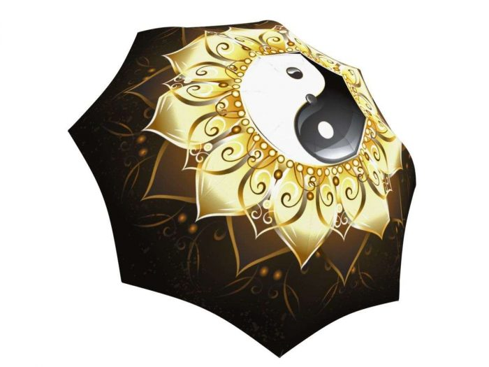 Rain umbrella with gift box - Yin Yang
