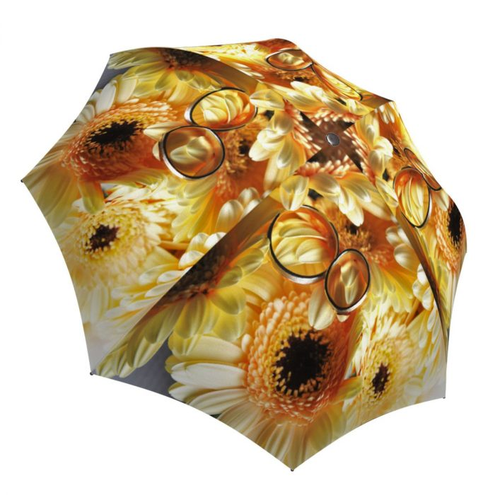 Unique Gift Sunflowers Umbrella Wedding Design - Beautiful Brand Umbrella for Women