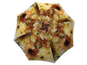 Unique Gift Sunflowers Umbrella Wedding Design - Compact Parasol for Travel - best umbrella brand