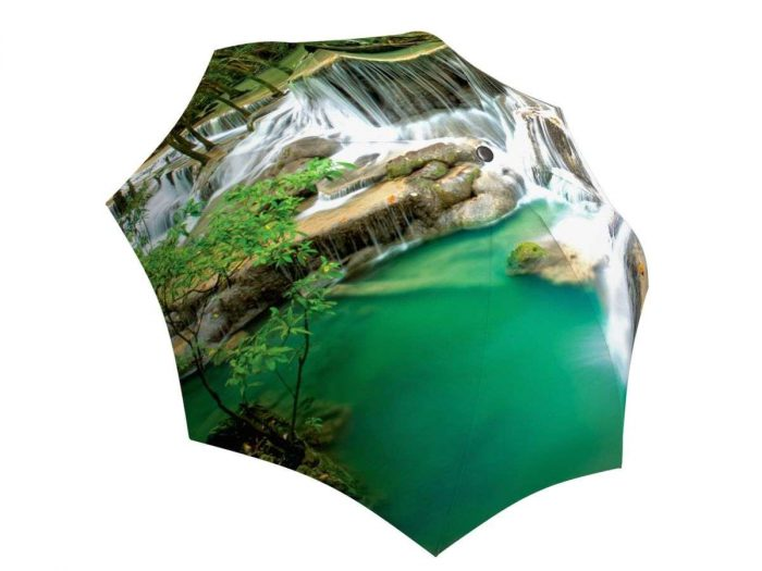 Rain umbrella with gift box - Thailand Waterfall