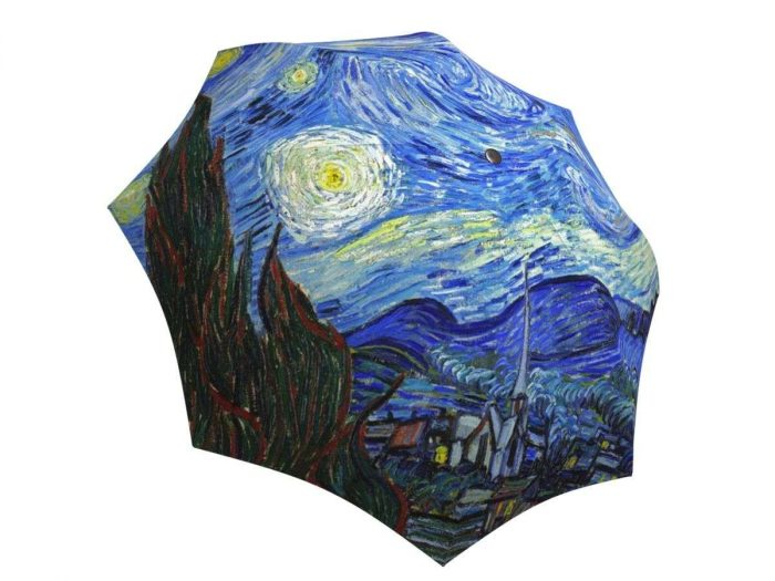 Rain umbrella with gift box - Van Gogh