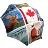 Rain umbrella with gift box - Canadian Collage