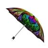 Good quality folding rain umbrella with gift box Floral Stained Glass
