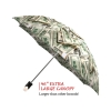 Money Collage good quality folding rain umbrella with gift box