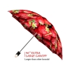 Strawberries good quality folding rain umbrella with gift box