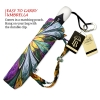 Kaleidoscope Stained Glass large canopy small folding umbrella