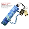 Van Gogh large canopy small folding umbrella