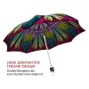 Dragonfly Stained Glass stylish art auto open umbrella