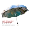 India stylish art auto open umbrella
