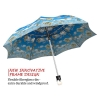 Raining money stylish art auto open umbrella