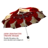 Red Roses stylish art auto open umbrella