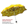 Yellow Flower stylish art auto open umbrella
