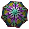 Unique Gift Abstract Art Umbrella Dragonfly Stained Glass Design - Folding Colorful Umbrella - best compact umbrella