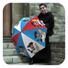 French Dog Funny Umbrella folding - Fashion original umbrella for men by La Bella Umbrella
