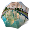 Automatic Rain Umbrella Taj Mahal - Folding Colourful Umbrella with Sleeve