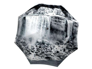Designer Rain Umbrella with gift box Canadian Waterfall