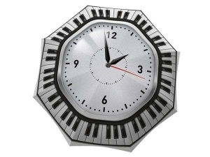 Stylish Clock Umbrella Black and White - best designed umbrellas