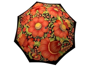 Designer Rain Umbrella with gift box Folk Art