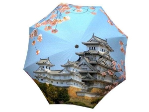 Best japan made 3 folds umbrella - Japan Umbrella Cherry Blossoms - Windproof Umbrella Compact Travel Themed Japanese Gift