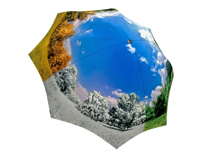 Rain umbrella with gift box - Four Seasons