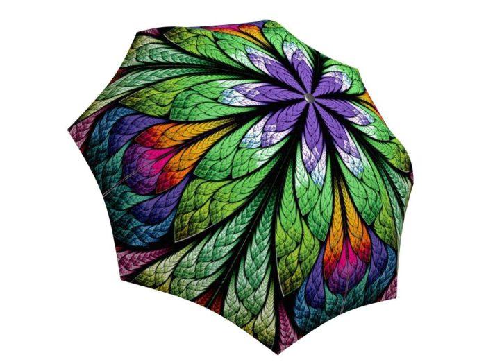 Rain umbrella with gift box - Peacock