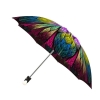Good quality folding rain umbrella with gift box Dragonfly Stained Glass
