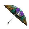 Good quality folding rain umbrella with gift box Kaleidoscope Stained Glass