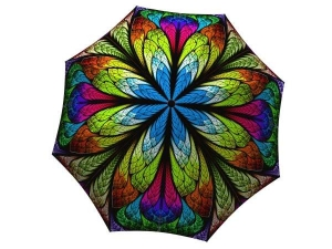Floral Umbrella Windproof Compact for Travel - Brand Umbrella for Women - best designer umbrellas